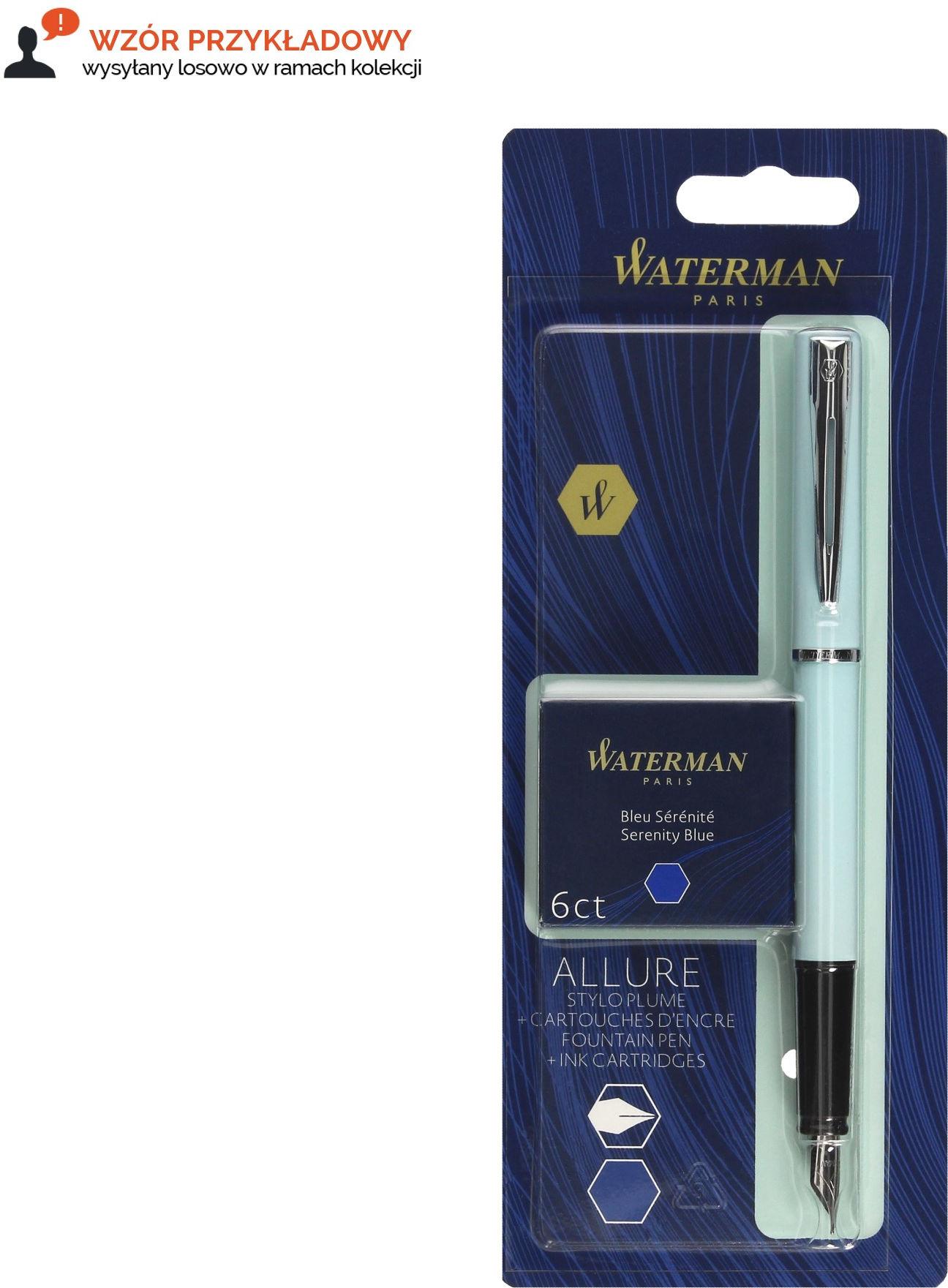 Pióro wieczne Waterman Allure pastel + naboje 2135215