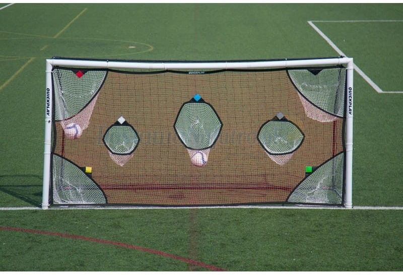Mata do treningu celności Quickplay bramka piłkarska 5 x 2 m