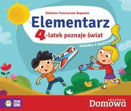 Elementarz 4-latek poznaje świat ZAKŁADKA DO KSIĄŻEK GRATIS DO KAŻDEGO ZAMÓWIENIA