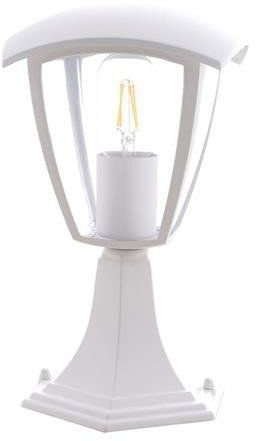 Lampa ogrodowa stojąca FOX WHITE 1xE27 Mała EKO3513
