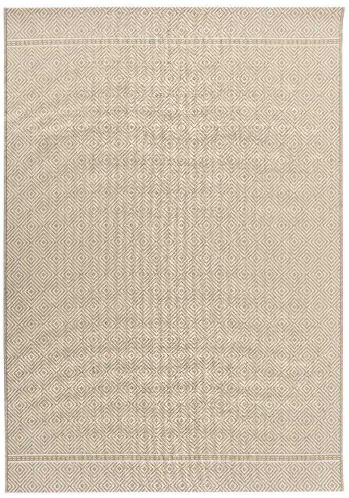 Dywan zewnętrzny Patio beżowy 160 x 230 cm