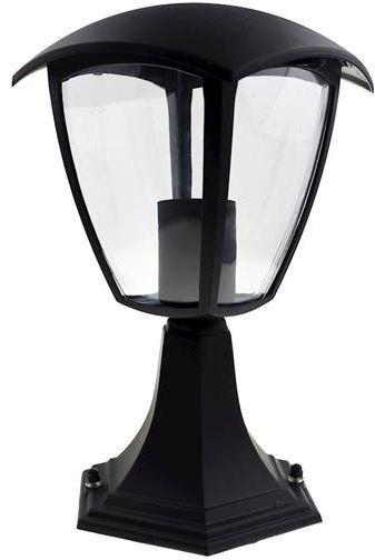 Lampa ogrodowa stojąca FOX BLACK 1xE27 Mała EKO3551