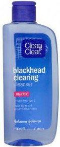 Clean & Clear Blackhead Clearing woda tonizująca przeciw zaskórnikom 200 ml + do każdego zamówienia upominek.
