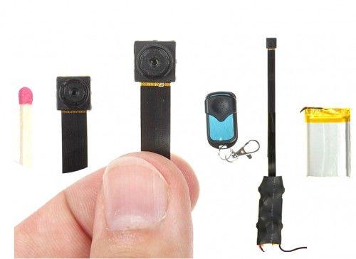 Mini kamera szpiegowska do ukrycia HD 1080p NX86 długi czas pracy 16h