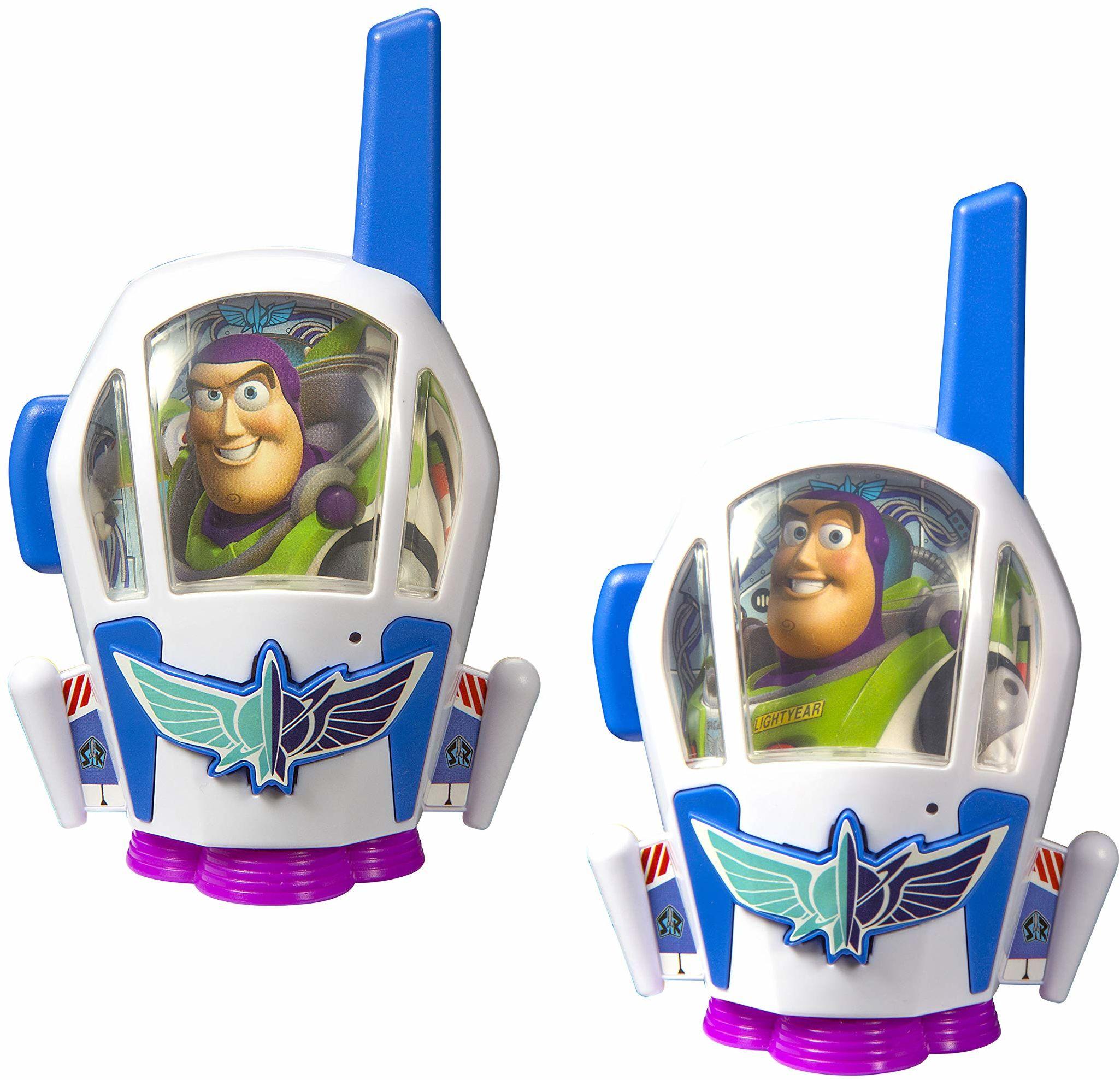 Toy Story 4 Walkie Talkies dla dzieci Statyczny i rozszerzony zasięg Buzz Lightyear