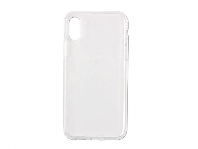 Apple iPhone X - etui na telefon Ultra Slim - przezroczyste