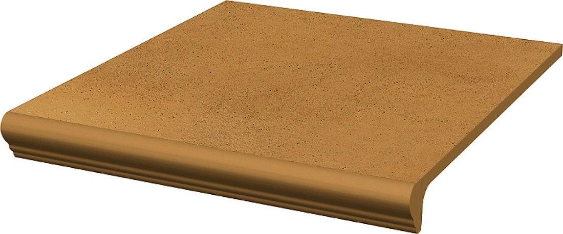 AQUARIUS BROWN stopnica z kapinosem prosta 30x33x1,1