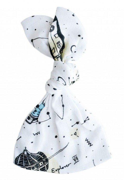 Doudou pierwsza przytulanka Space LL4438-Lullalove, wyprawka dla niemowlaka
