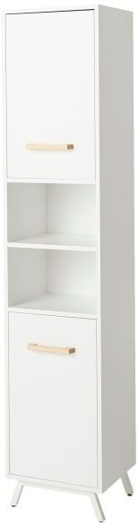 Słupek łazienkowy GoodHome Ladoga 190 x 36 x 40 cm biały