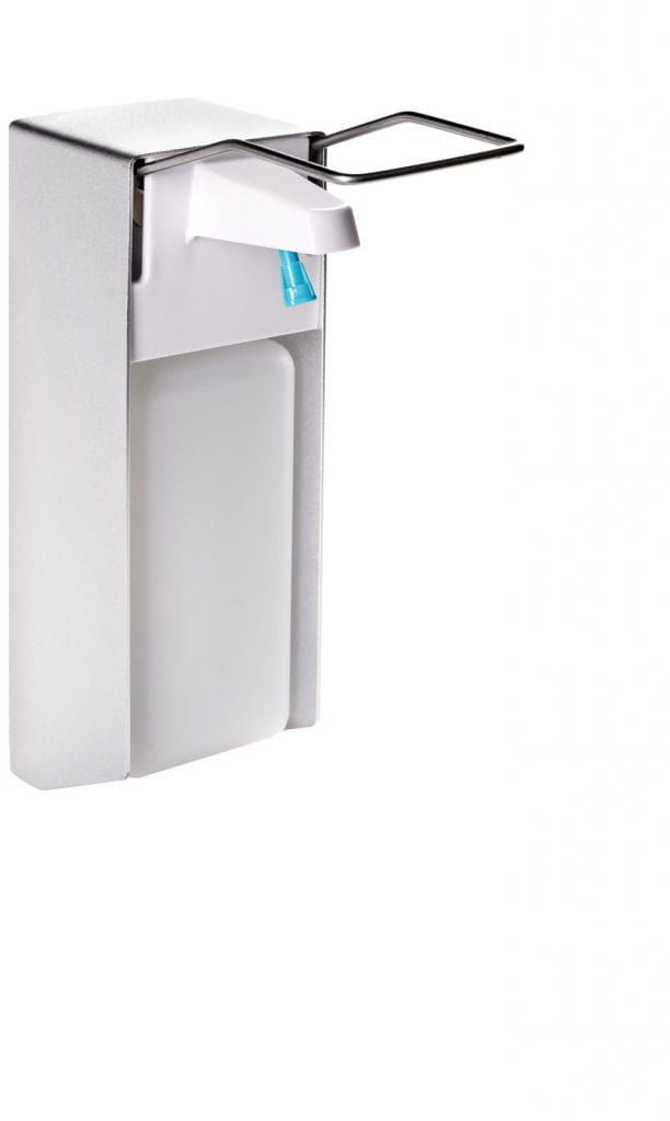 Stella Dozownik płynów dezynfekcyjnych 1 L z przyciskiem łokciowym 17.402