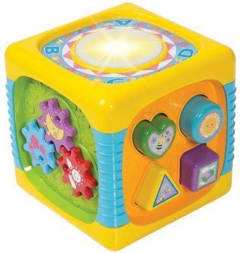 Kostka centrum zabawy - SMILY PLAY