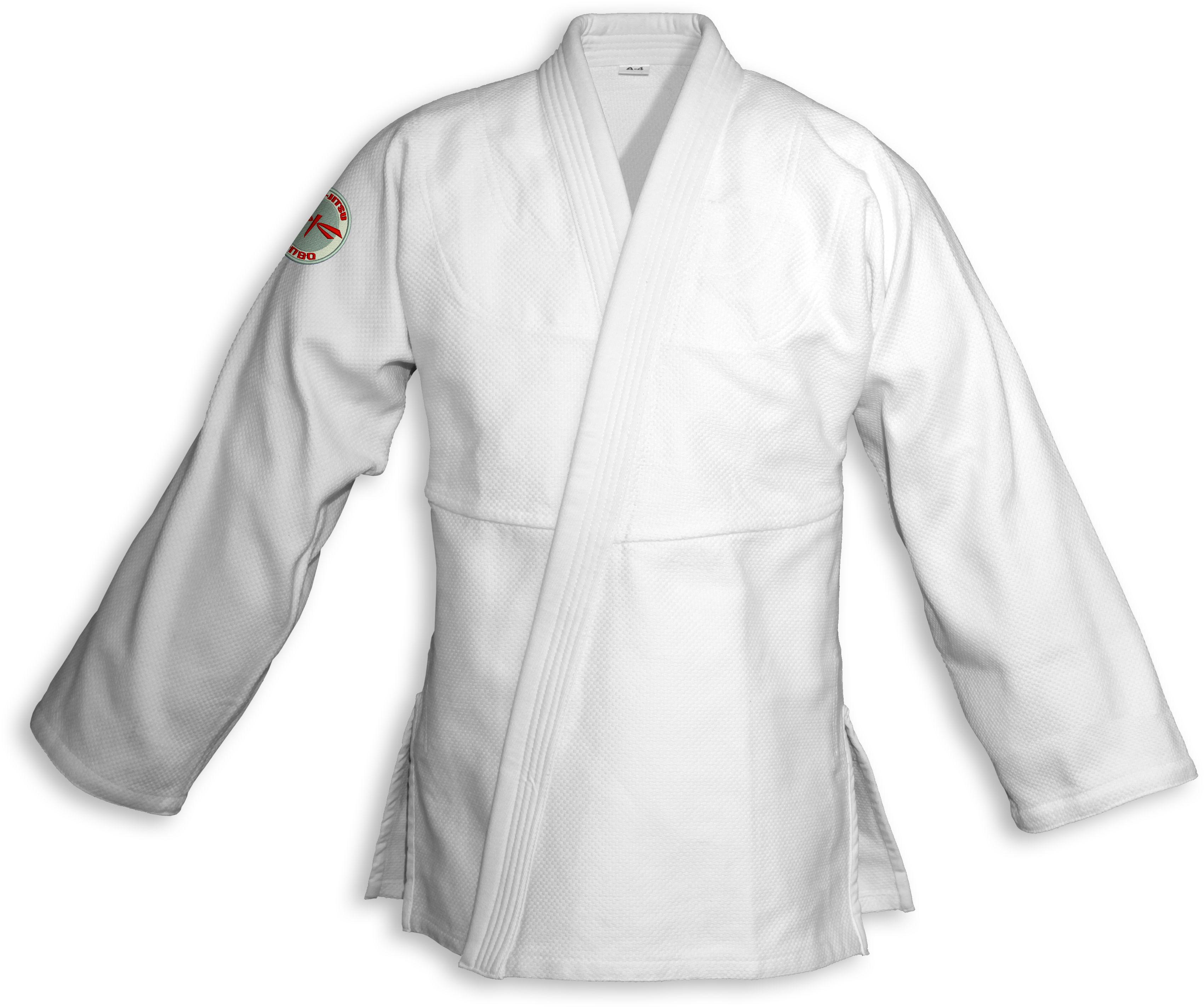 bluza BJJ / Jiu-Jitsu NAKED, białe, 580g/m2 (27 rozmiarów)