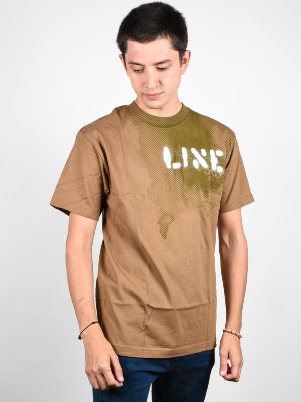 Line Stencil CAMEL koszulka męska - S
