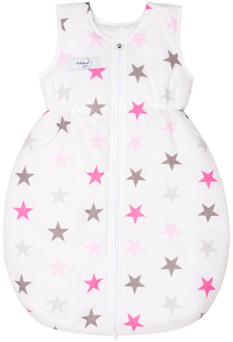 Śpiworek zimowy 2,5 tog niemowlęcy do spania ocieplany Białe Gwiazdy