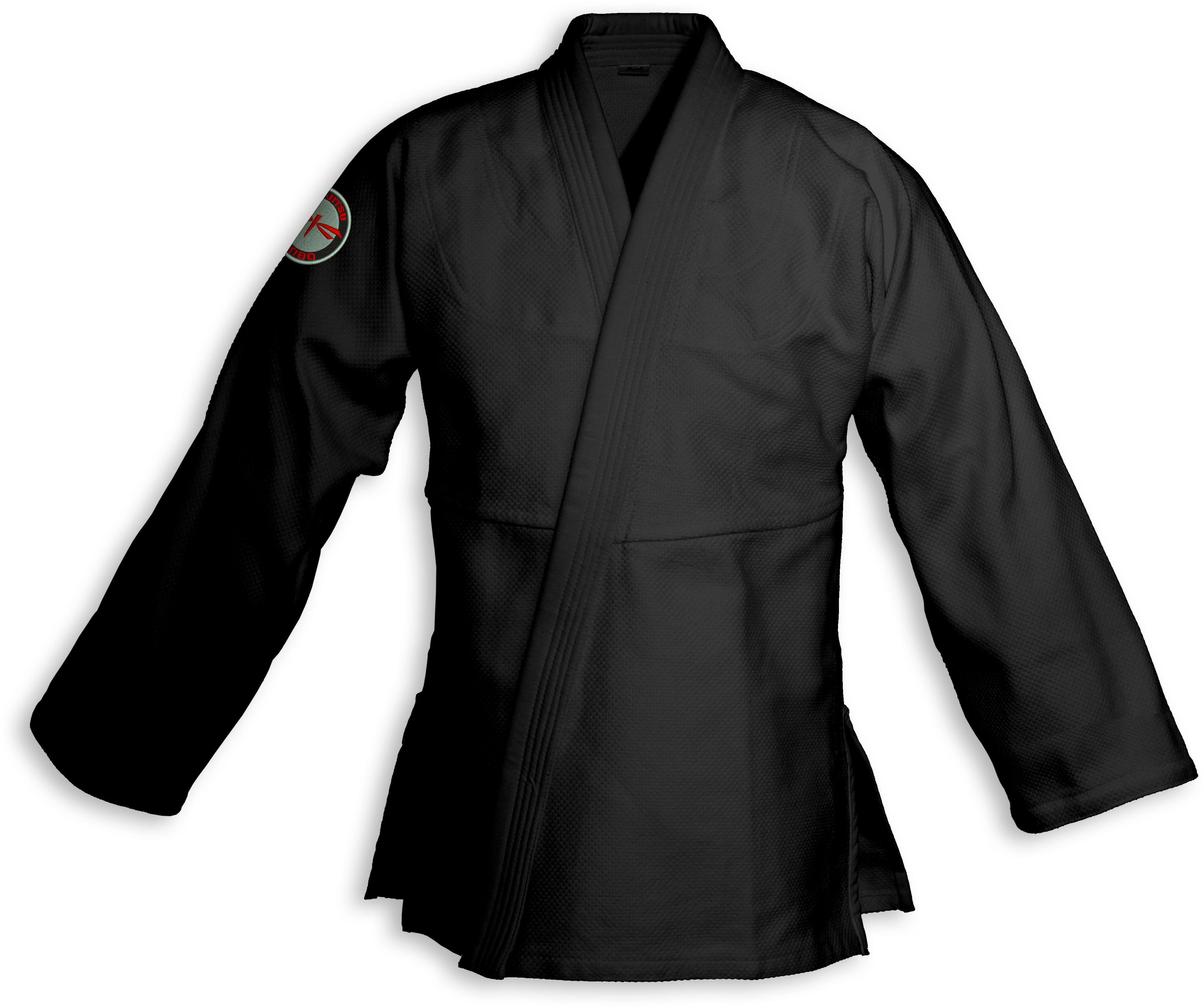 bluza BJJ / Jiu-Jitsu NAKED-LIGHT, czarna, 420g/m2 (21 rozmiarów)
