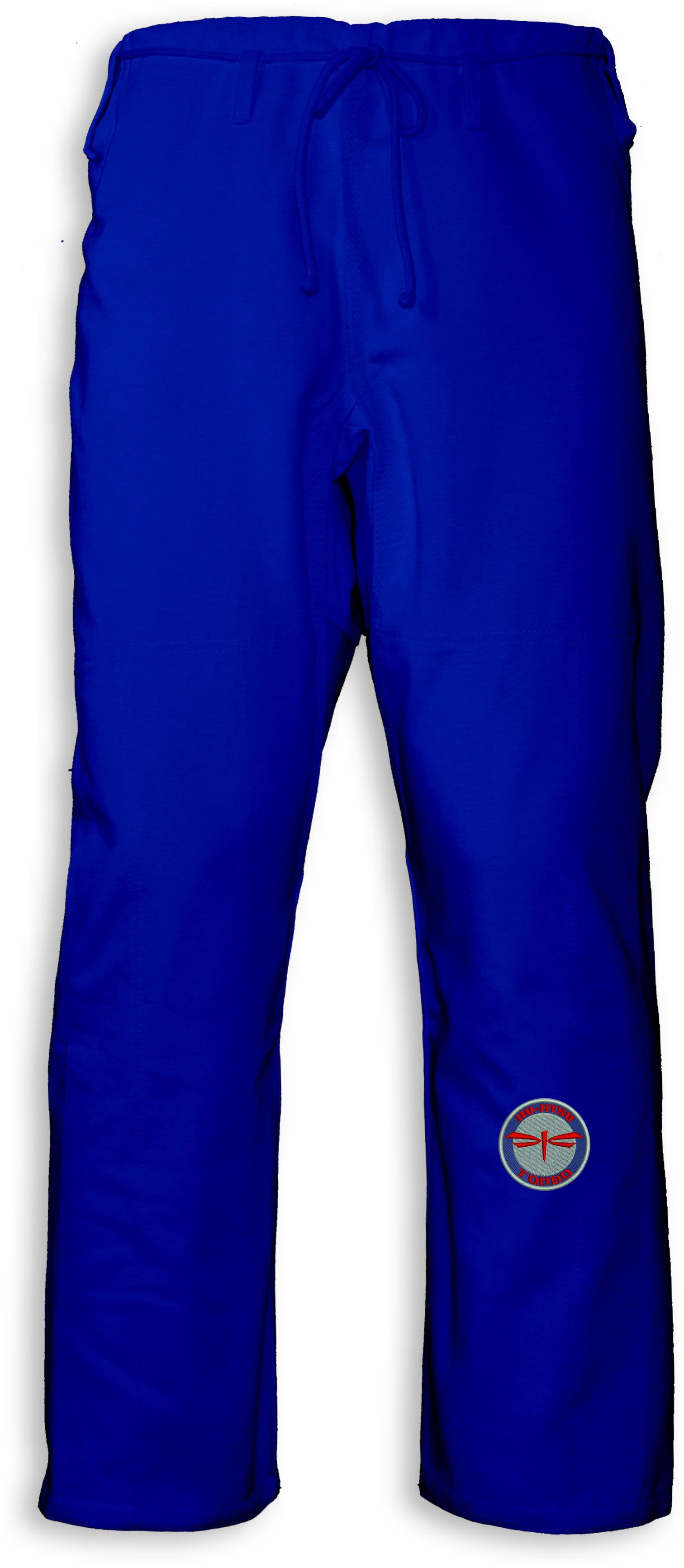 spodnie BJJ / Jiu-jitsu NAKED, niebieskie, 12oz (27 rozmiarów)