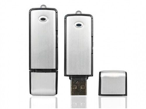 Dyktafon pendrive 4GB BLACK-200 16 godzin pracy