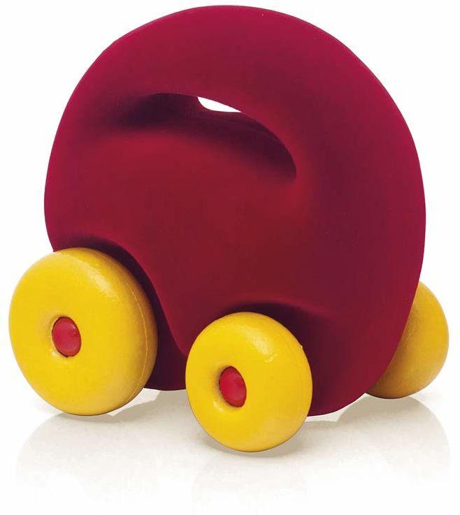 Rubbabu R20189 Mascot auto czerwony