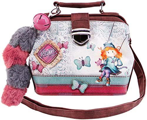 Forever Ninette Forever Ninette Swing-Doctor torba na ramię torba kurierska, 20 cm, wielokolorowa, 39772