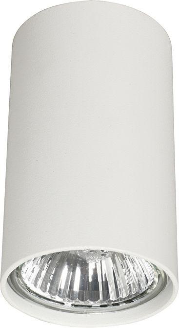 Plafon Eye S 5255 Nowodvorski Lighting biała nowoczesna oprawa w kształcie tuby