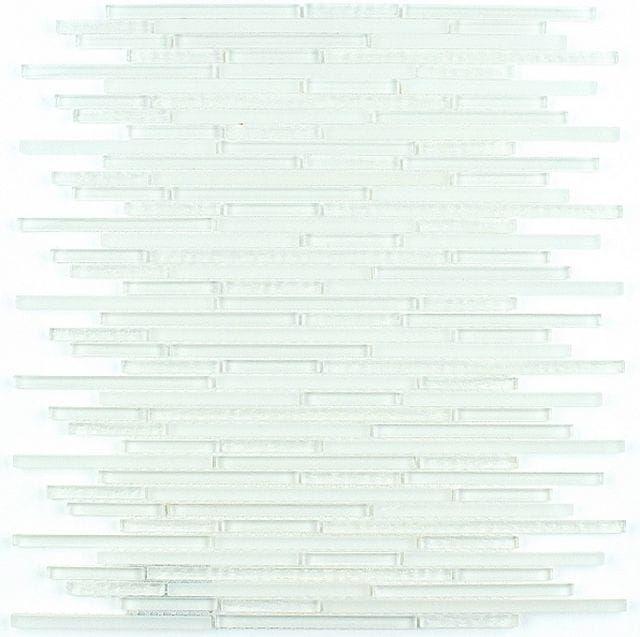 MIDAS - Mozaika szklana 6mm A-MGL06-XX-030 biała