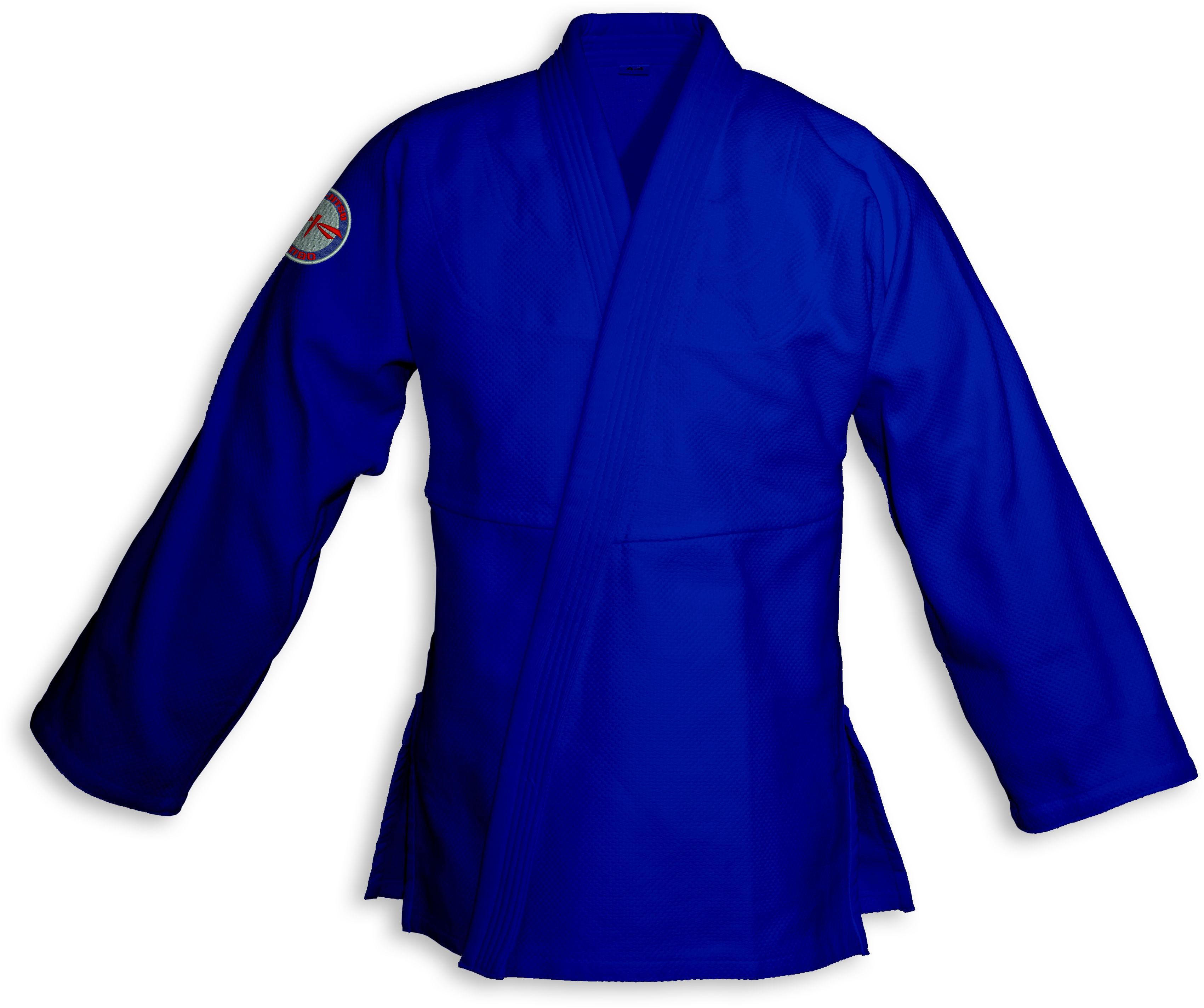 bluza BJJ / Jiu-Jitsu NAKED, niebieska, 580g/m2 (27 rozmiarów)