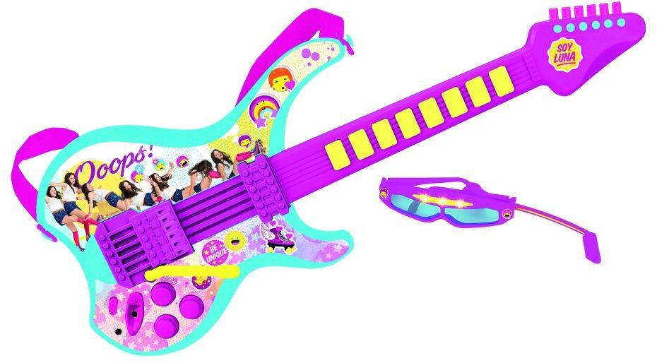 Soy Luna 5654 Disney gitara elektryczna z przyłączem MP3