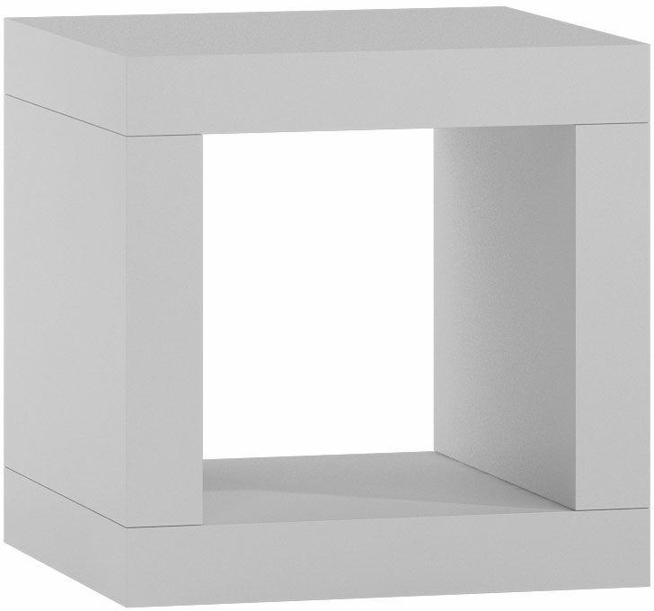 Minimalistyczny regał Idris 2X - biały