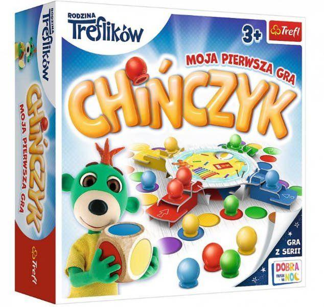 GRA Chińczyk Moja pierwsza gra Trefliki 02056 - Trefl PAP