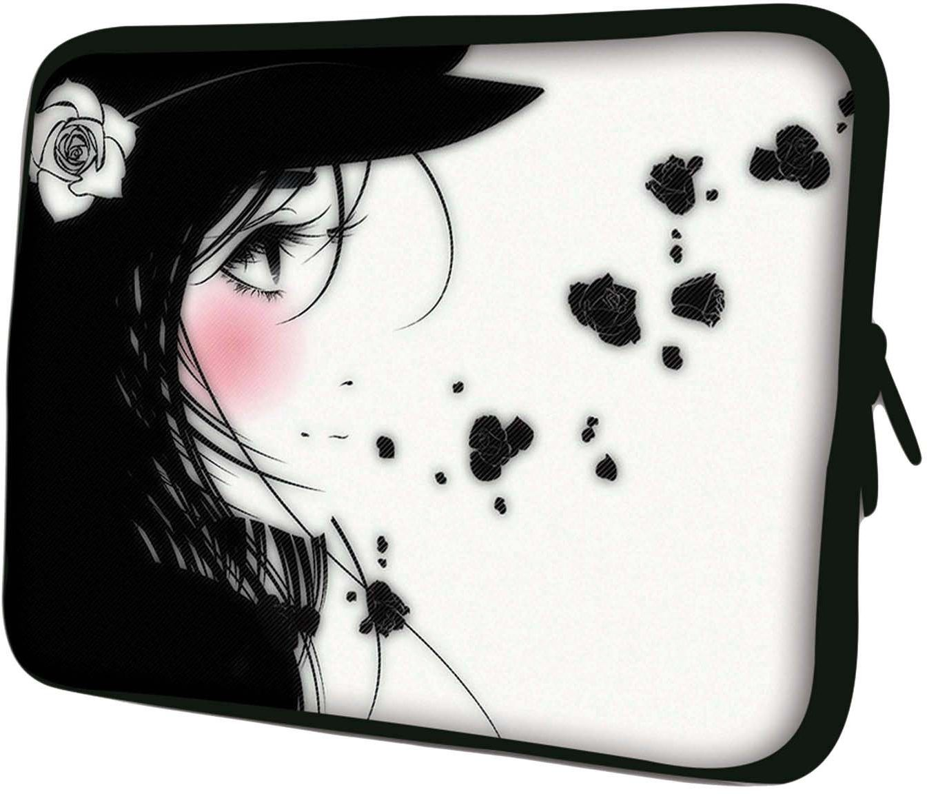 Luxburg 10-calowy pokrowiec torba na laptop/tablet Manga Girl
