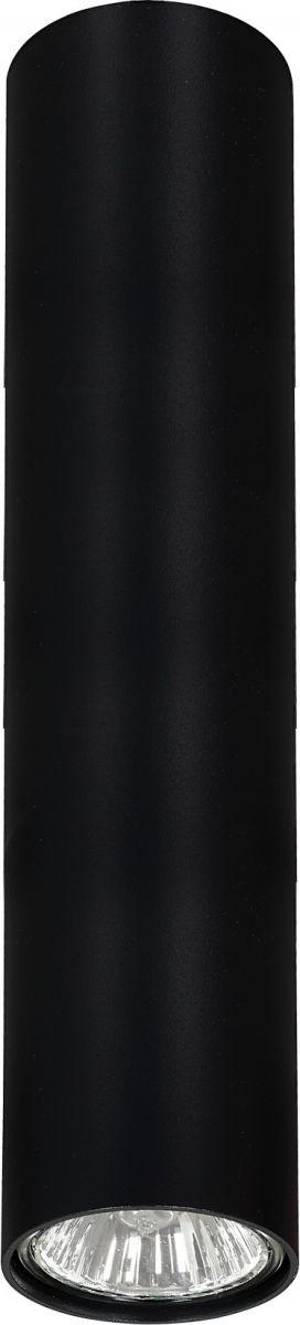 Plafon Eye M 6837 Nowodvorski Lighting czarna nowoczesna oprawa w kształcie tuby