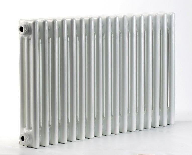 Grzejnik pokojowy retro - 3 kolumnowy, 500x1000, biały/ral - biały