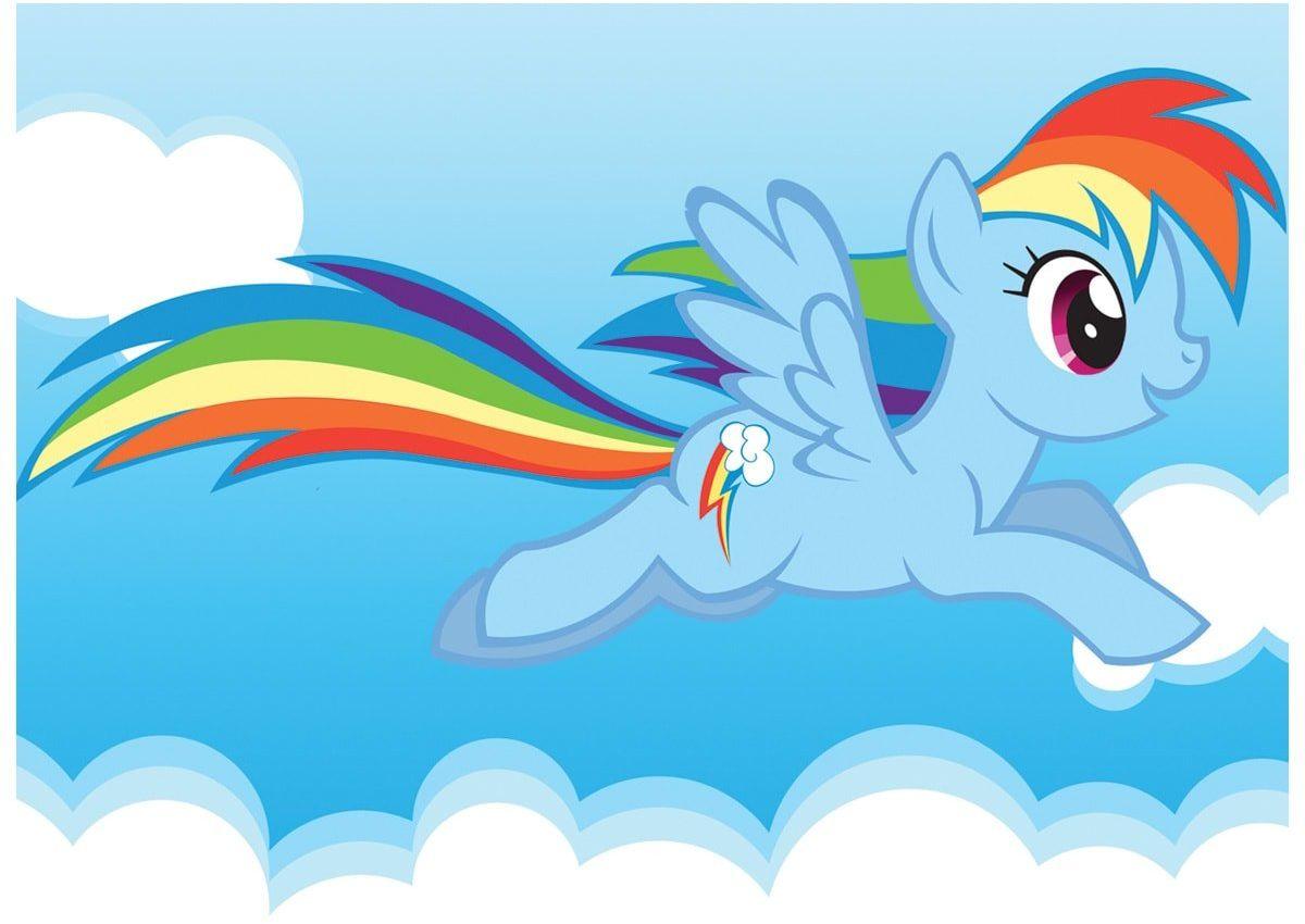 Dekoracyjny opłatek tortowy My Little Pony - A4