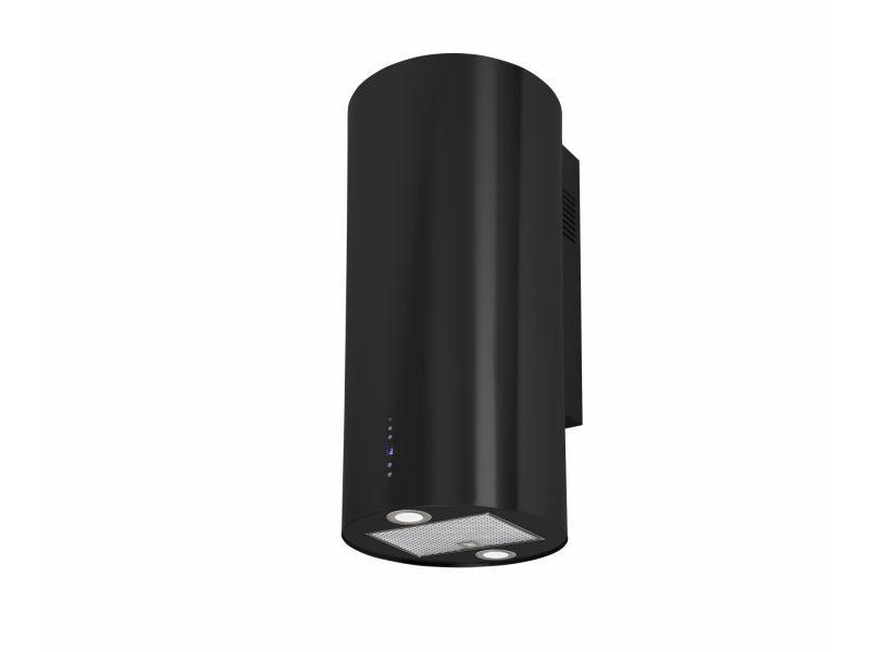 Okap kominowy Cylindro OR Black 40 cm