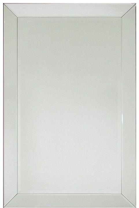 Lustro ścienne w lustrzanej ramie 80x120