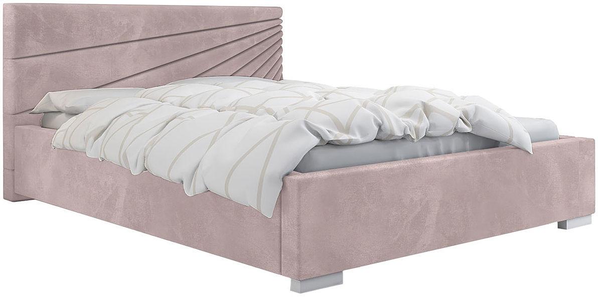 Podwójne łóżko z pojemnikiem 140x200 Lander 2X - 48 kolorów