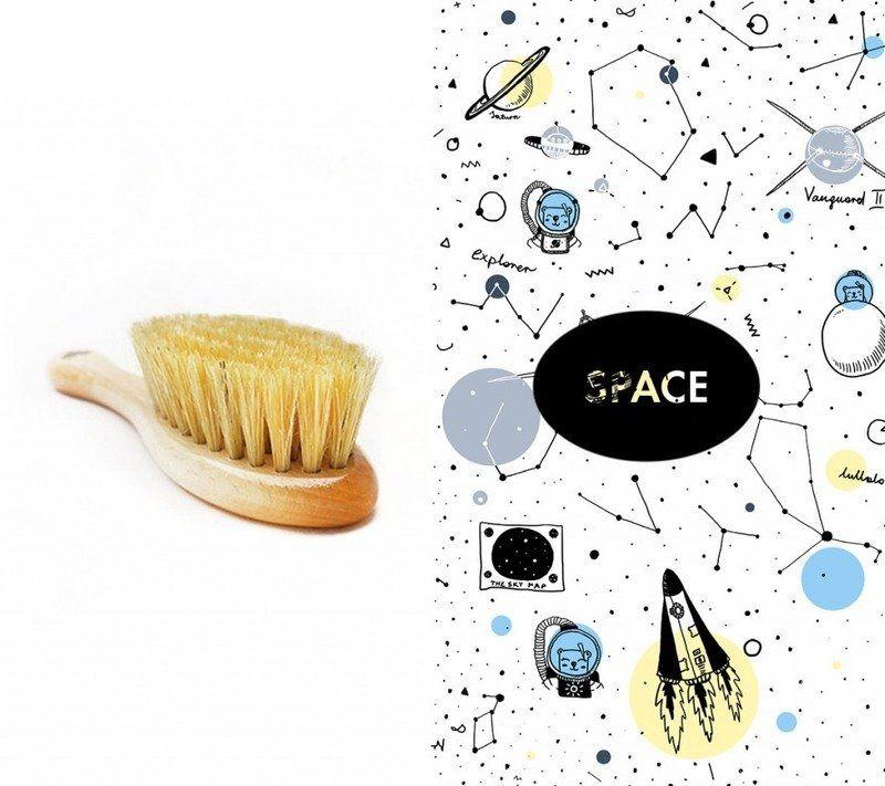Szczotka i myjka Space LL4452-Lullalove, wyprawka dla niemowlaka