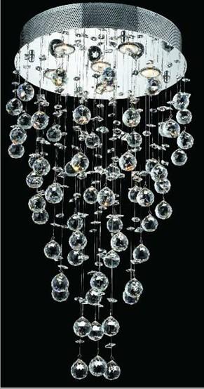 Żyrandol kryształowy 40x100cm 5xGU10 K309
