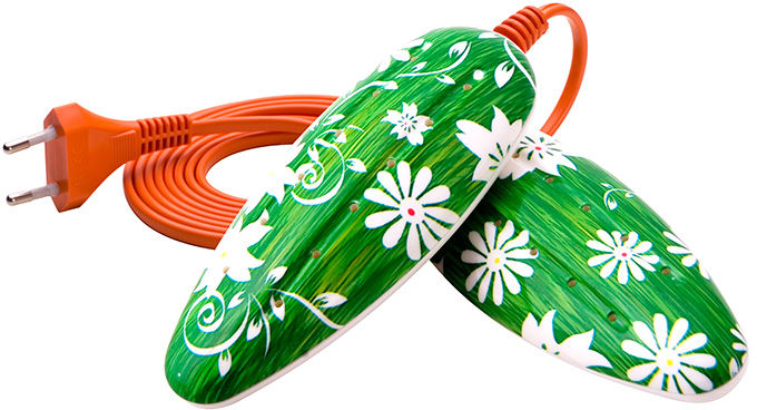 Suszarka do butów Elektrowarm SB-3d zielona łąka UV