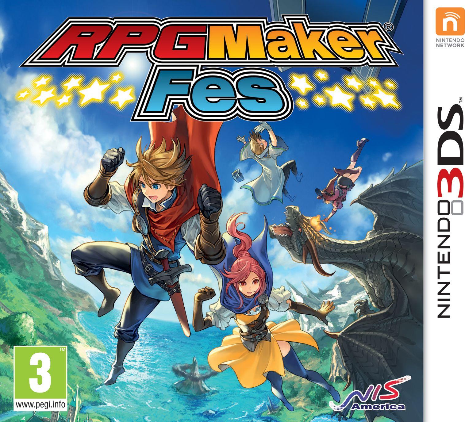 Gra RPG Maker Fes (Nintendo 3DS)