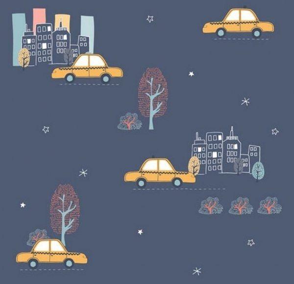 Tapeta samochody auta taxi nd21108 sweet dreams