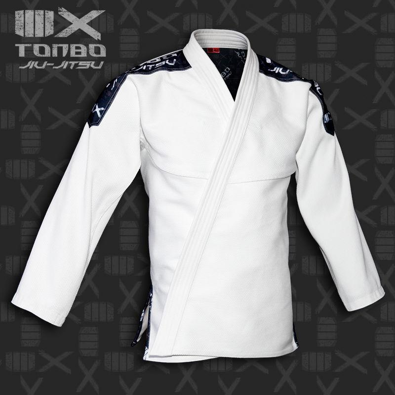 bluza BJJ / Jiu-Jitsu 4X, biała, 580g/m2 (27 rozmiarów)