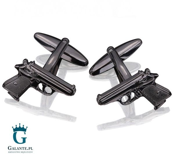 Spinki do mankietów Pistolet SD-1290