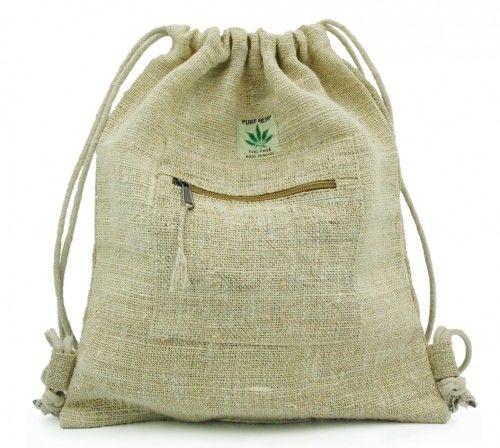 Plecak z włókien naturalnych Worek