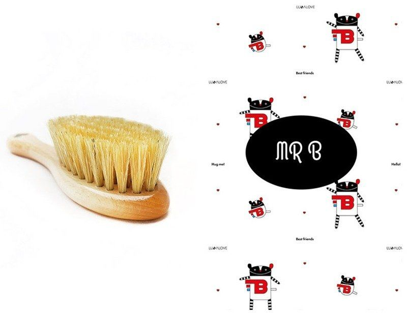 Szczotka i myjka MRB LL0027-Lullalove, wyprawka dla niemowlaka