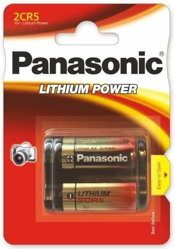 Panasonic bateria 2CR5 6V 1400mAh