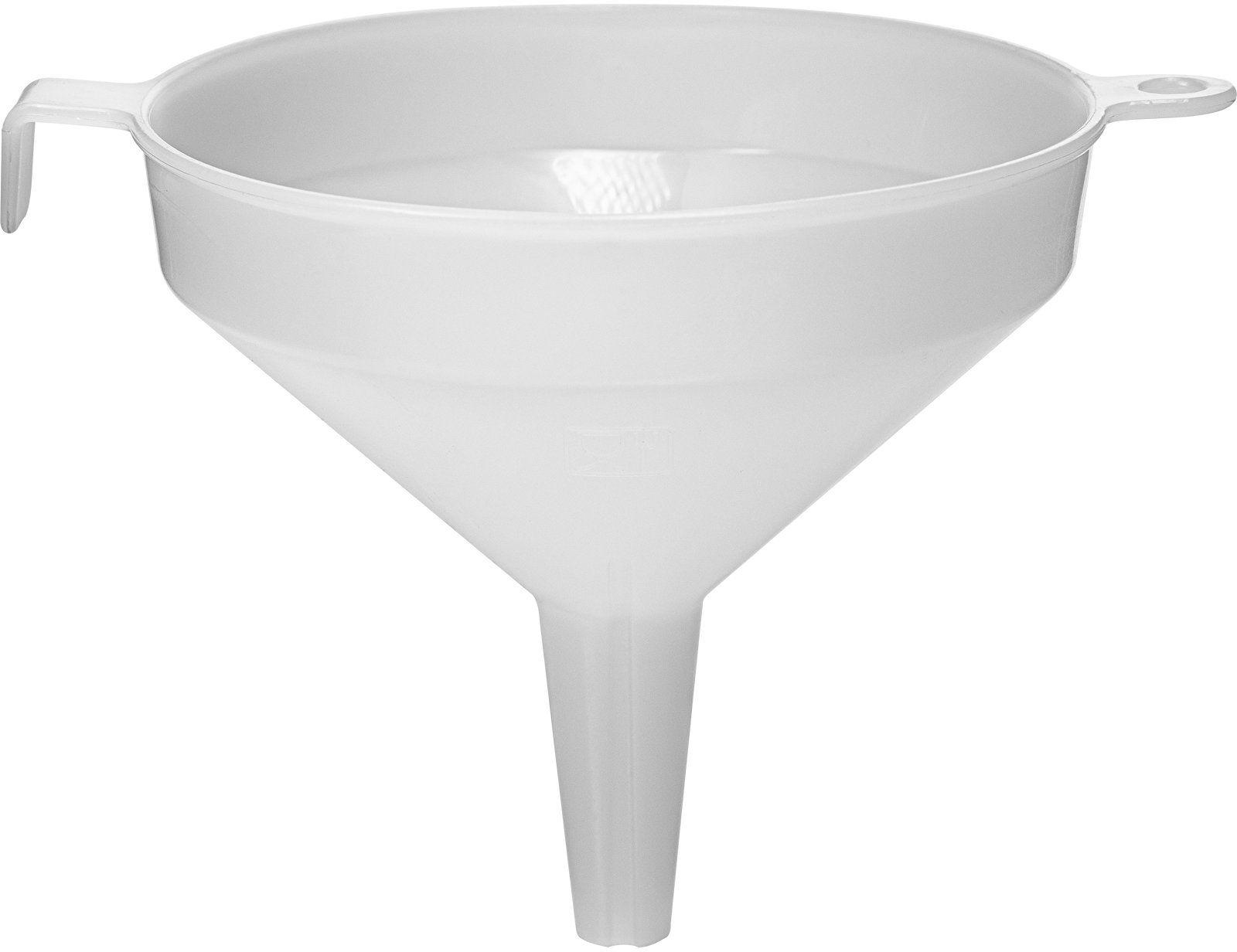Lejek plastikowy biały fi 10 cm