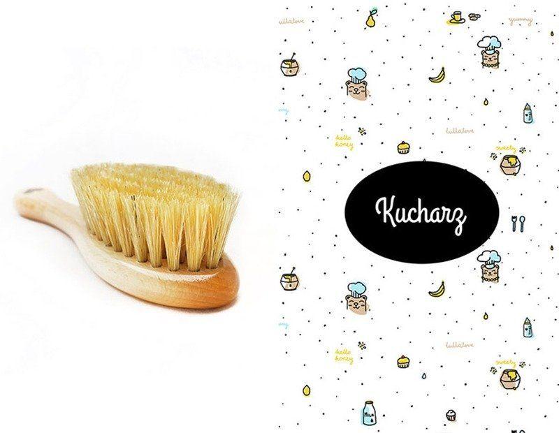 Szczotka i myjka Kucharz LL0119-Lullalove, wyprawka dla niemowlaka