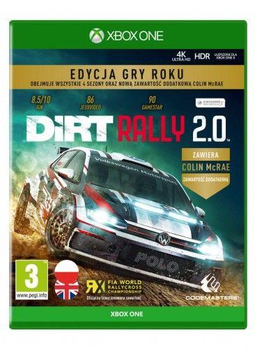 Dirt Rally 2.0 Edycja Gry Roku XOne
