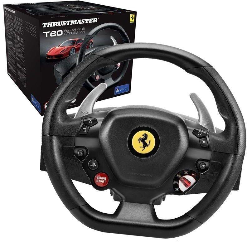 Thrustmaster Kierownica T80 Ferrari 488 GTB Edition PC/PS4